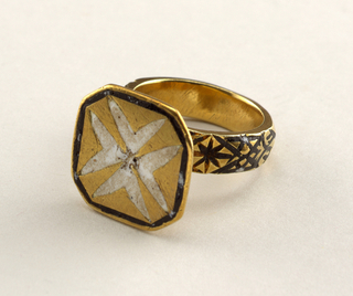 Ring With Seal, probably 16th century