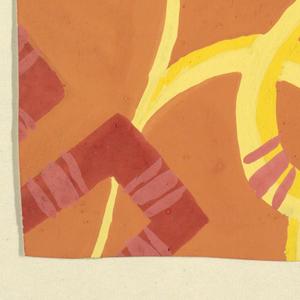 Drawing, Turkenbund: Orange