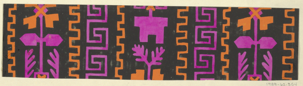 Drawing, Textile Design: Revue