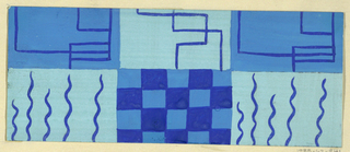 Drawing, Textile Design: Sylvester