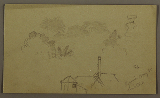 Drawing, Linstead, Jamaica, May 1865