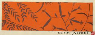 Drawing, Textile Design: Wicken
