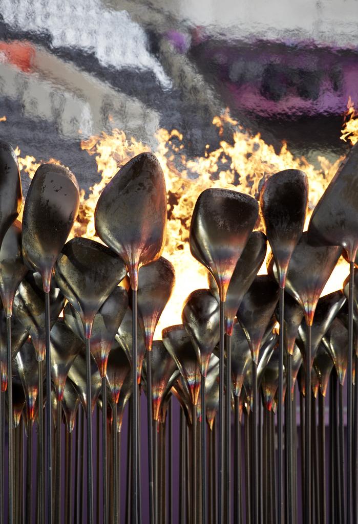 Olympic Cauldron, 2012