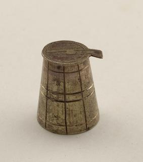 cask lid Miniature