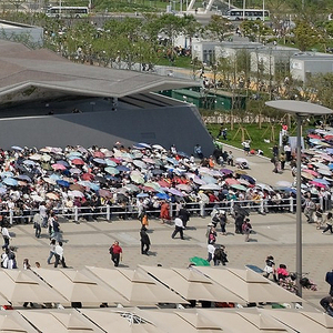 UK Pavilion, 2007–2010