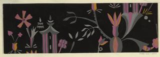 Drawing, Textile Design: Li-tai-po