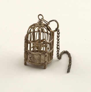 bird cage Miniature, ca. 1800