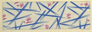 Drawing, Textile Design: Annie