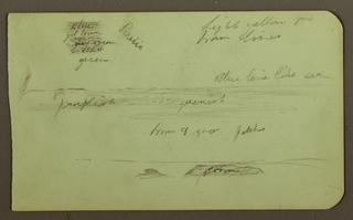 "Drawing, ""Prairie"" Landscape, 1883"