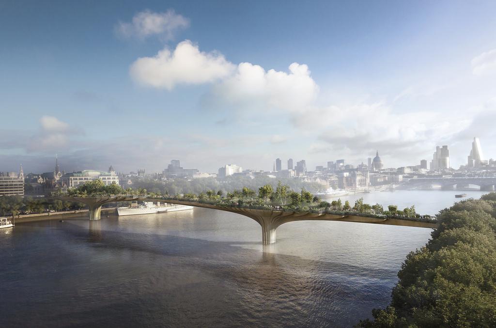 Garden Bridge, 2012-