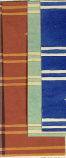 Drawing, Textile Design: Rhombus