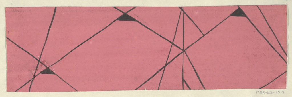 Drawing, Textile Design: Ouvertüre