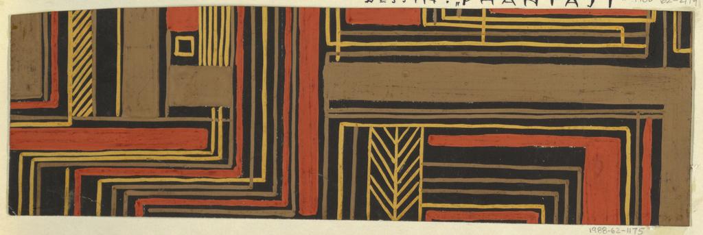 Drawing, Textile Design: Berggeist (Mountain Sprite)