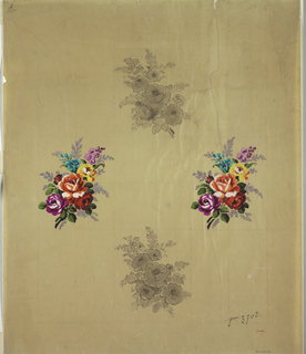 Drawing, Design for Woven Textile