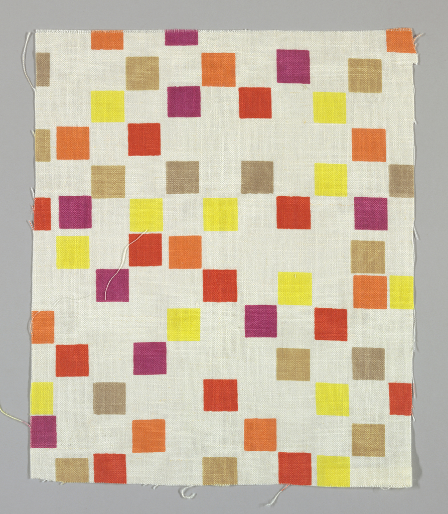 Textile Fragment, Small Squares