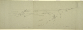 Drawing, View from the Acropolis, 1869