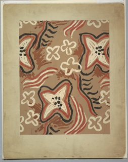 Drawing, Textile Design: Stylized