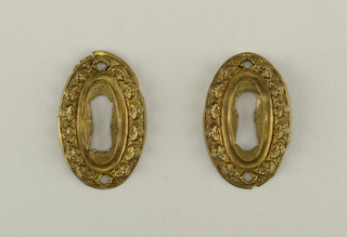 Pair Of Escutcheons, ca. 1810