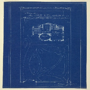 Blueprint villa of m hemsy st cloud plan du rez de chaussee design and floor plan for the rex de chaussee floor plan pictured above center malvernweather Images