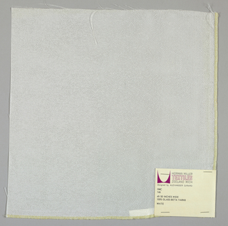 Finely-woven gauze weave in white.