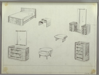 Drawing, Bedroom, Suite