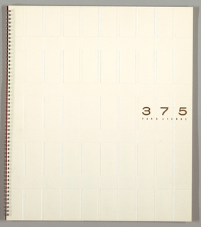 Brochure, Seagram's Building, 375 Park Avenue, New York, NY