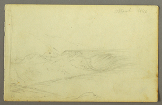 Verso: Figures in a rowboat