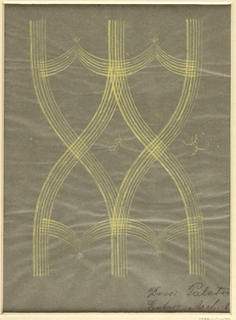 Drawing, Textile Design: Palatin