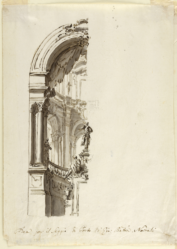 Drawing, Architectural Design Around Door