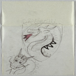 Drawing, Sketch for DragonOil