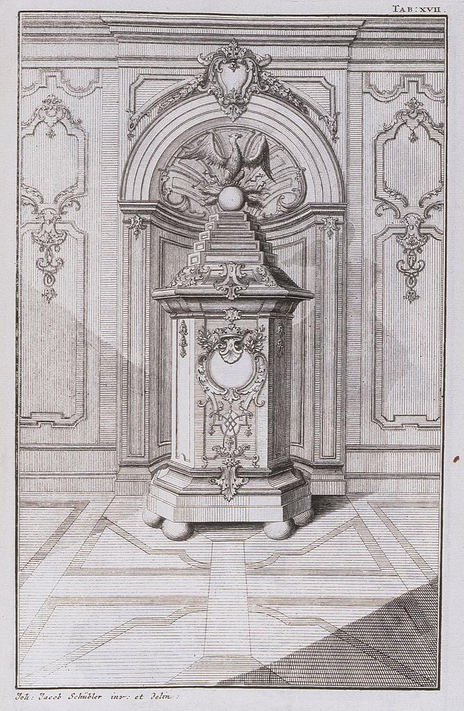 "Print, Plate 17 from ""Stuben-Ofen"""