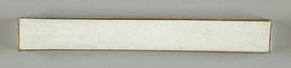 Plain white paper box.