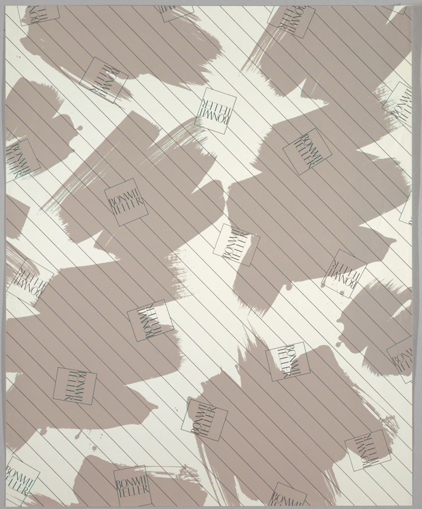Wrapping Paper, Bonwit Teller