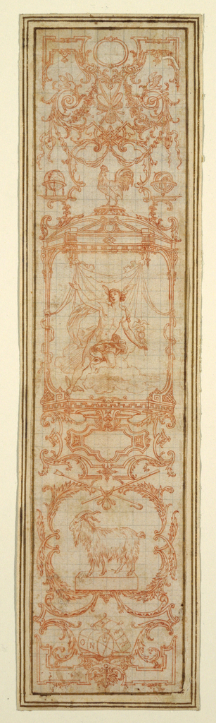 Drawing, Designs for Gobelins Tapestry, June (Les Mois Grotesques par Bandes)