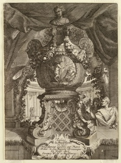 Print, Design for a Vase for Het Loo