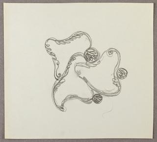 Drawing, Three interlocked fluid f