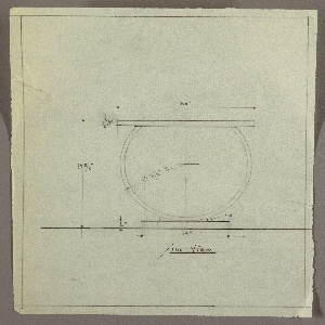 Drawing, Table, ca. 1934