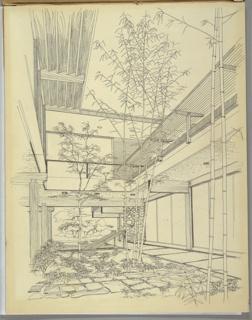 Drawing, Design for Atrium