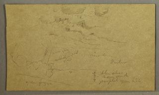 Verso: Part of a cloud