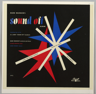 Record Cover, Sound Off by Mark Warnow's