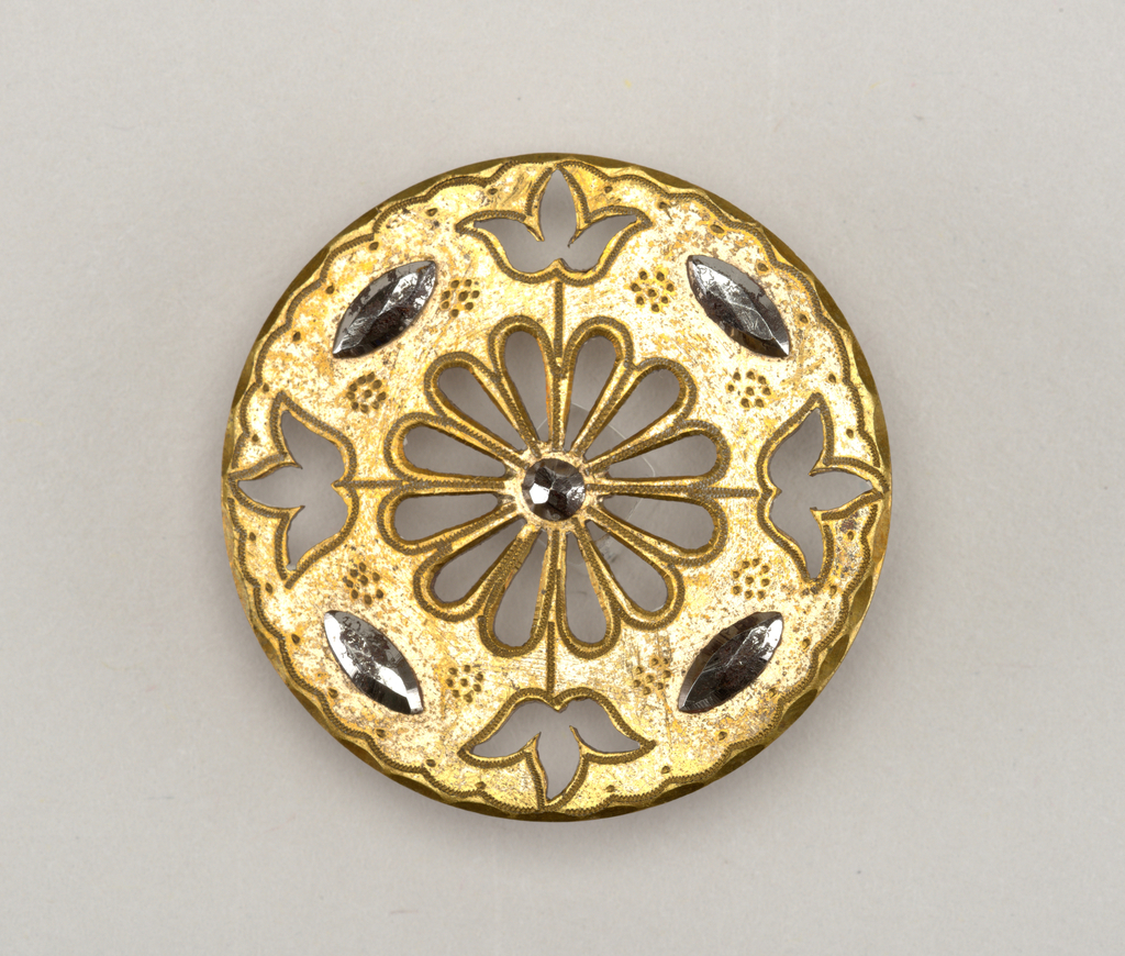 Button (possibly USA), 18th–19th century