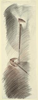 Design for standing lamp.