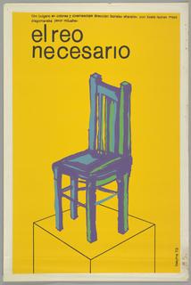 Poster, El reo necesario (The Necessary Offender)