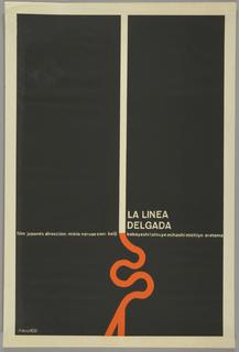 Poster, La linea delgada (The Thin Line)