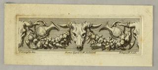 Print, Vignette, Ornamental Frieze