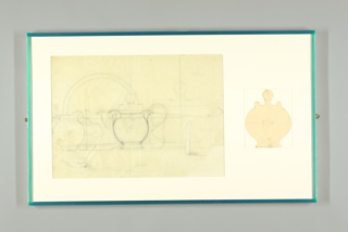Drawing, Designs for Pitcher, Sugar Bowl, Serving Plate, Teapot and Tureen, Pinnacle Dinner Service, International China