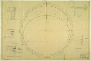 Drawing, Plan for a circular sink, for Crane Co., March 24, 1949