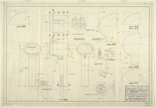 Drawing, Assembly Schematic (for camera), for Minneapolis Honeywell Regulator Co., October 9, 1959