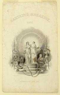 Print, Sartain's Magazine, 1851