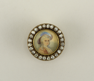 Component -a is on card 68.  Two buttons with a portrait of a lady.